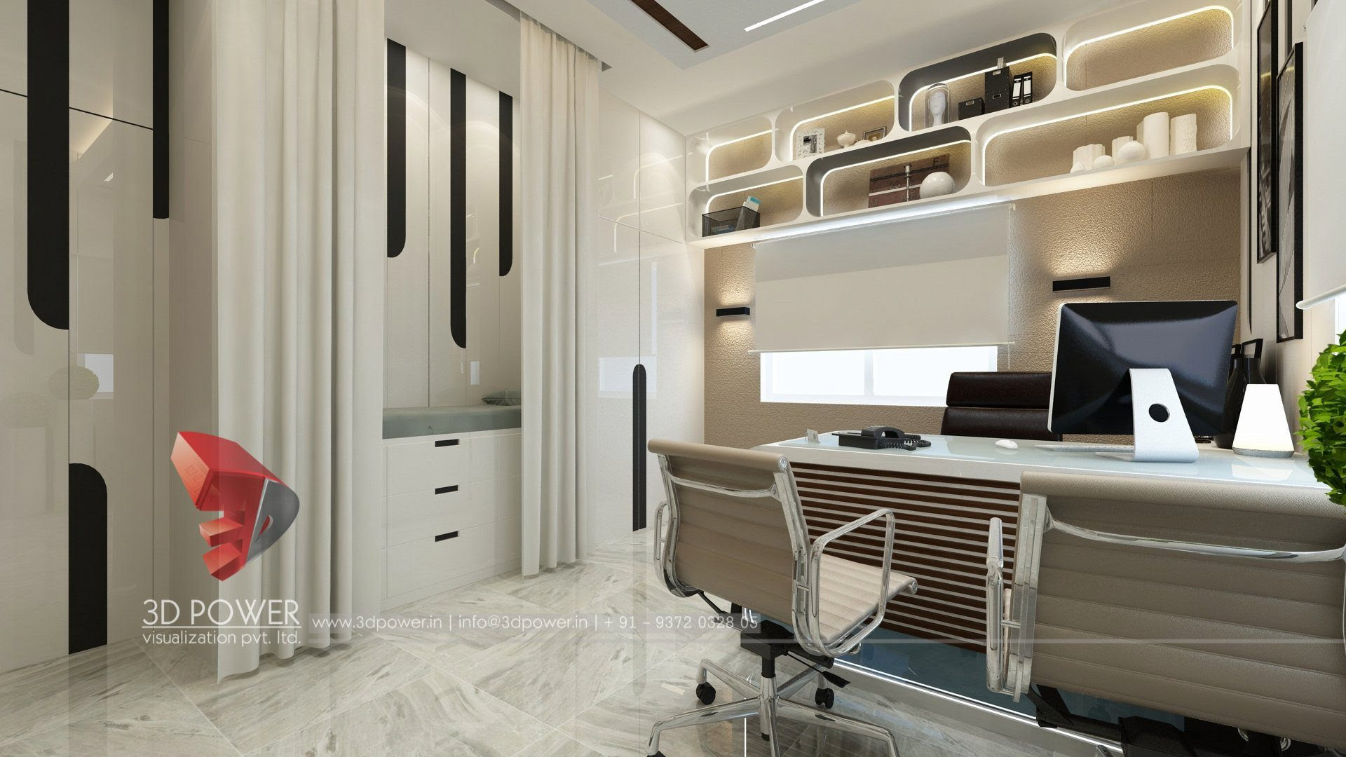 3d Interior Rendering 3d Power Visualization Company