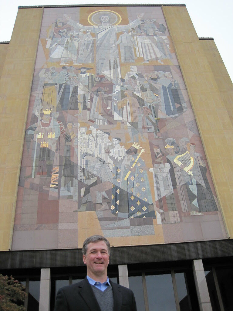 """Me, and """"Touchdown Jesus"""""""