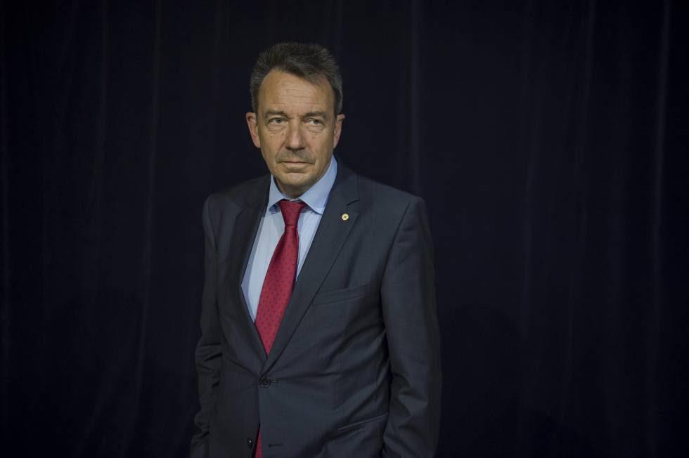 Peter Maurer durante su reciente visita en Madrid.
