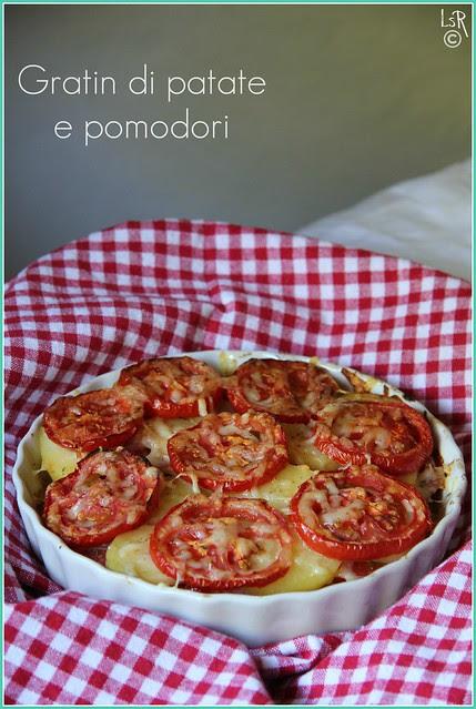 gratin patate e pomodori