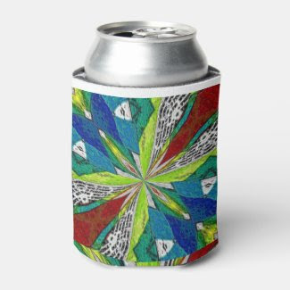 Kaleidoscope Can Cooler