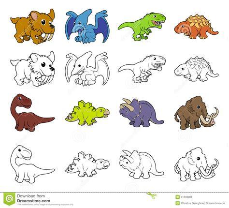 cartoon dinosaur illustrations stock image image