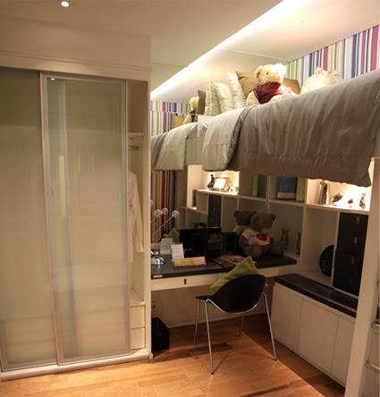 kumpulan artikel properti: desain kamar anak di ruang sempit
