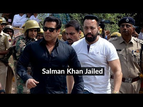 Salman Khan jailed in poaching case
