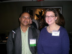 Michelle Riggins  BatchBlue.com and Shashi Bellamkonda , Network Solutions