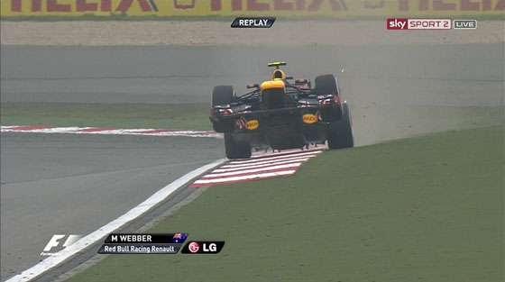 Red Bull Gives Mark Webber Wings