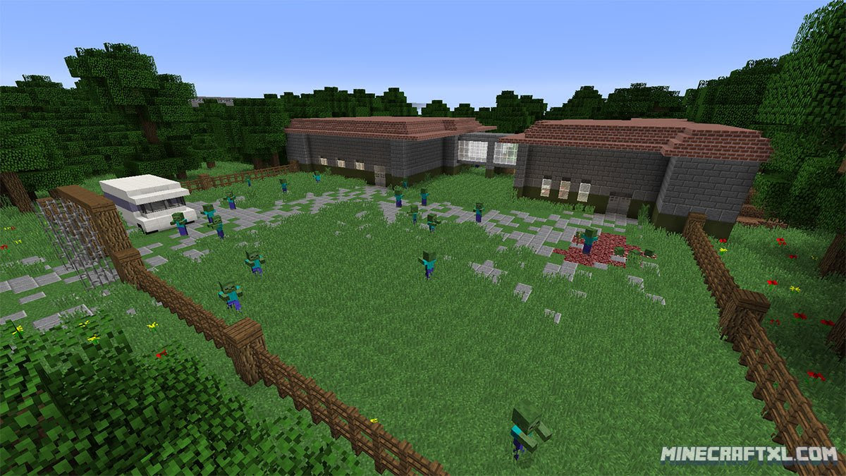 Dead World Zombie Adventure Map Download For Minecraft 1 8