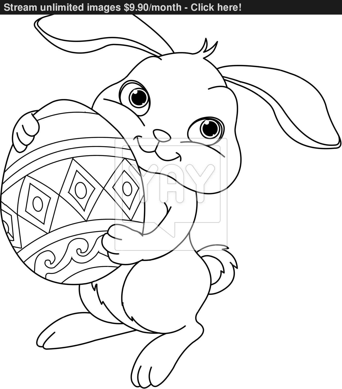 Bunny Drawing For Kids at GetDrawings | Free download