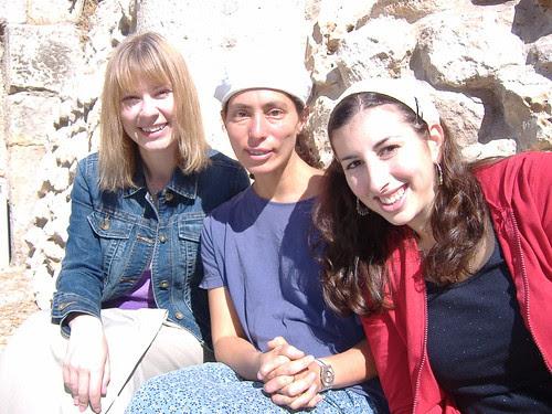 Soferet, Haviva Ner-David & Danya Ruttenberg @ Robinson's Arch, Jerusalem