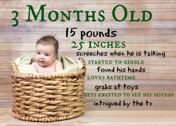 Like That He Is 3 Months Old Mommymandy L Texas Mom Blog