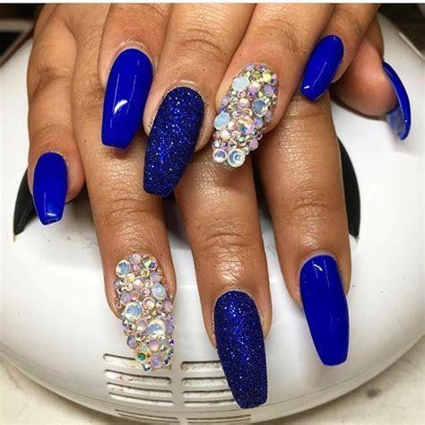The 25  best Royal blue nails ideas on Pinterest   Blue