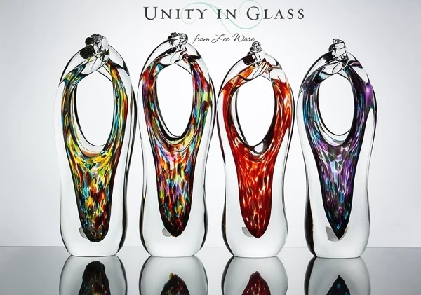 The Glass Alternative to a Sand Ceremony or Unity Candle ...