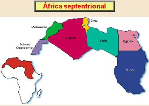 ÁFRICA SEPTENTRIONAL