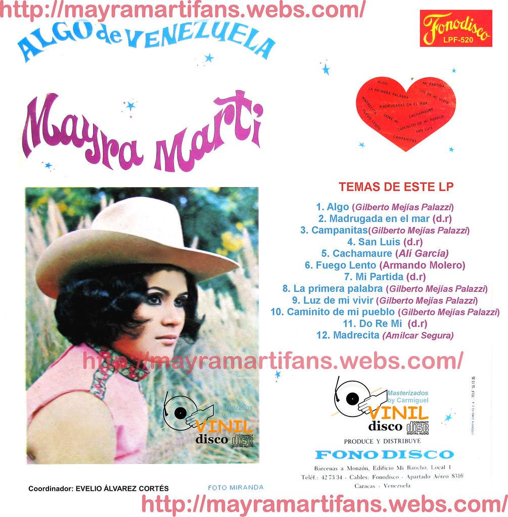 Mayra Martí -Algo de Venezuela back