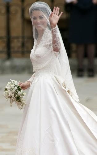 Kate Middleton?s Alexander McQueen wedding dress, 20 April