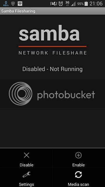 File sharing Android dengan Laptop