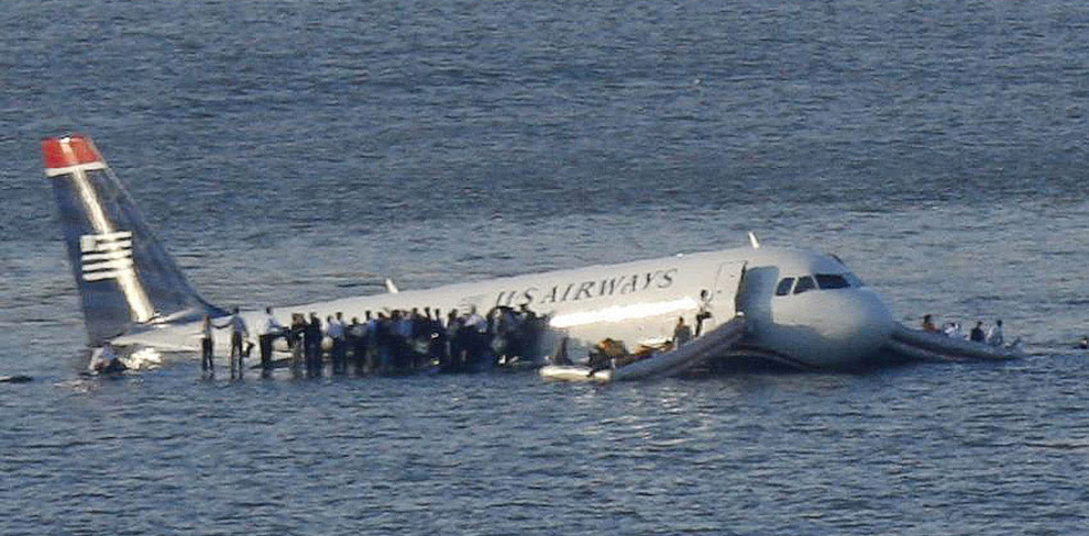 Чудо на Гудзоні: аварійна Посадка літака A320