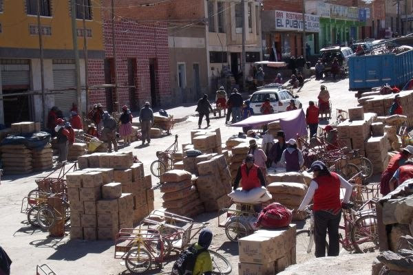 Comercio en Villazón