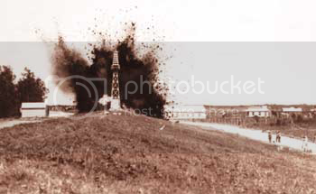Levee blast in 1927 St. Bernard Parish