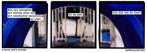 blue - from a softer world by you.