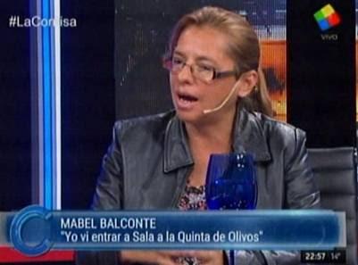 La diputada Mabel Balconte entrevista en La Cornisa  Mabel Balconte diputada denuncia lavado dinero k programa television la cornisa la ruta del dinero k investigacion