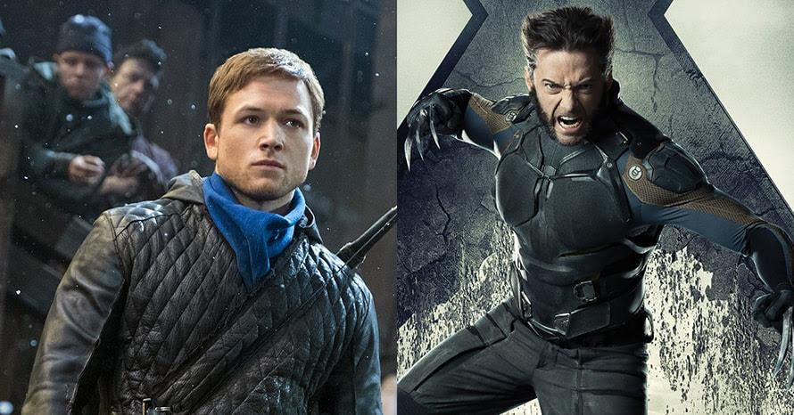Wolverine Taron Egerton Hugh Jackman