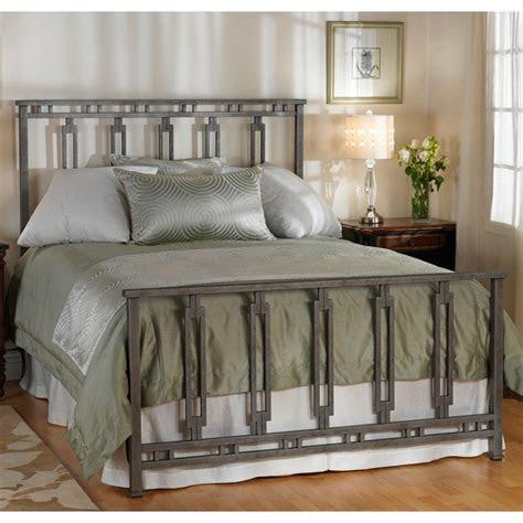 phoenix iron bed  wesley allen silver bisque finish