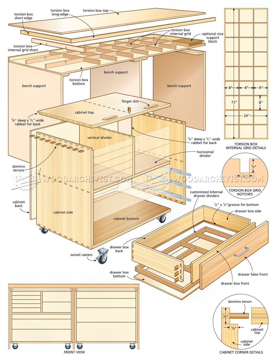 rolling tool cabinet woodworking plans free | woodworking