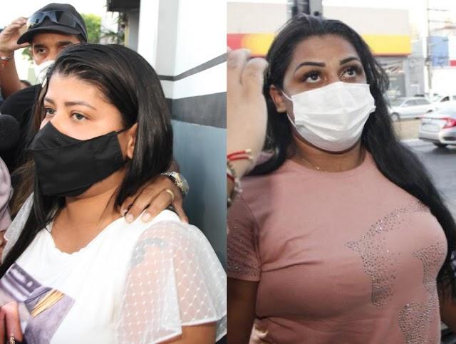 Ana Claudia Flor e Tatiane Borralho de Oliveira Silva mandaram matar os maridos com 11 dias de diferença em Cuiabá; veja