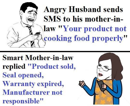 Smart Mother In Law Funny Pictures Quotes Memes Funny Images