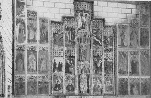Capilla de Santa Catalina de la Iglesia de El Salvador a inicios del siglo XX