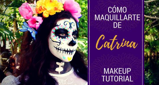 Catrina Makeup Tutorial Step By Step Sandos