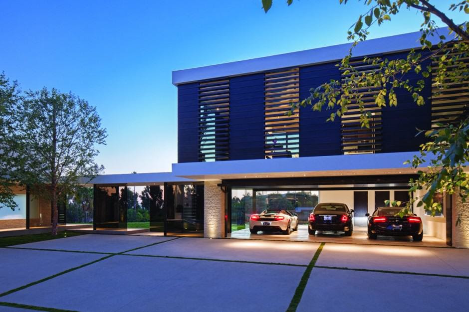 extravagant contemporary beverly hills mansion with creatively luxurious details 5 garage