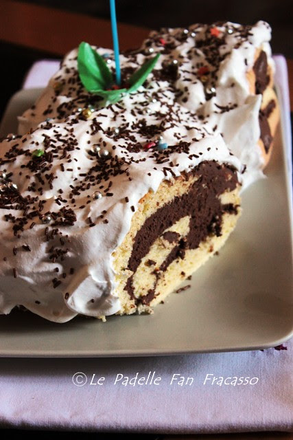 ricetta rotolo al mascarpone e cioccolato