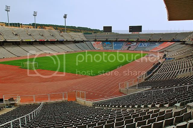Olympic Stadium on Montjuic Hill: An Inside View [enlarge]