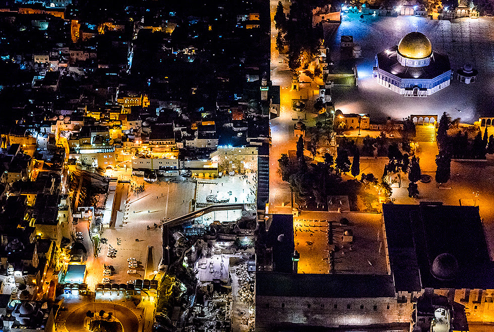 Western Wall Plaza (Photo: Israel Berdugo)