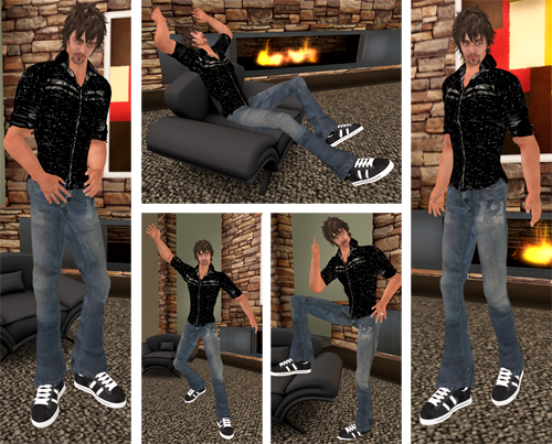 NEW! Adorkable BeefCake Pose Packs