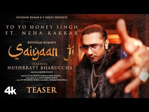 SAIYAAN JI LYRICS Yo Yo Honey Singh x Neha Kakkar