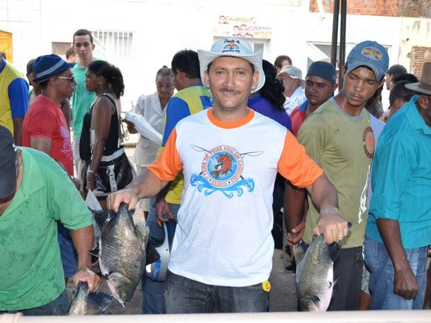 Estão previstos comércio de 10 toneladas de peixe para 2015 (Foto: Ed Ramos/Arquivo pessoal)