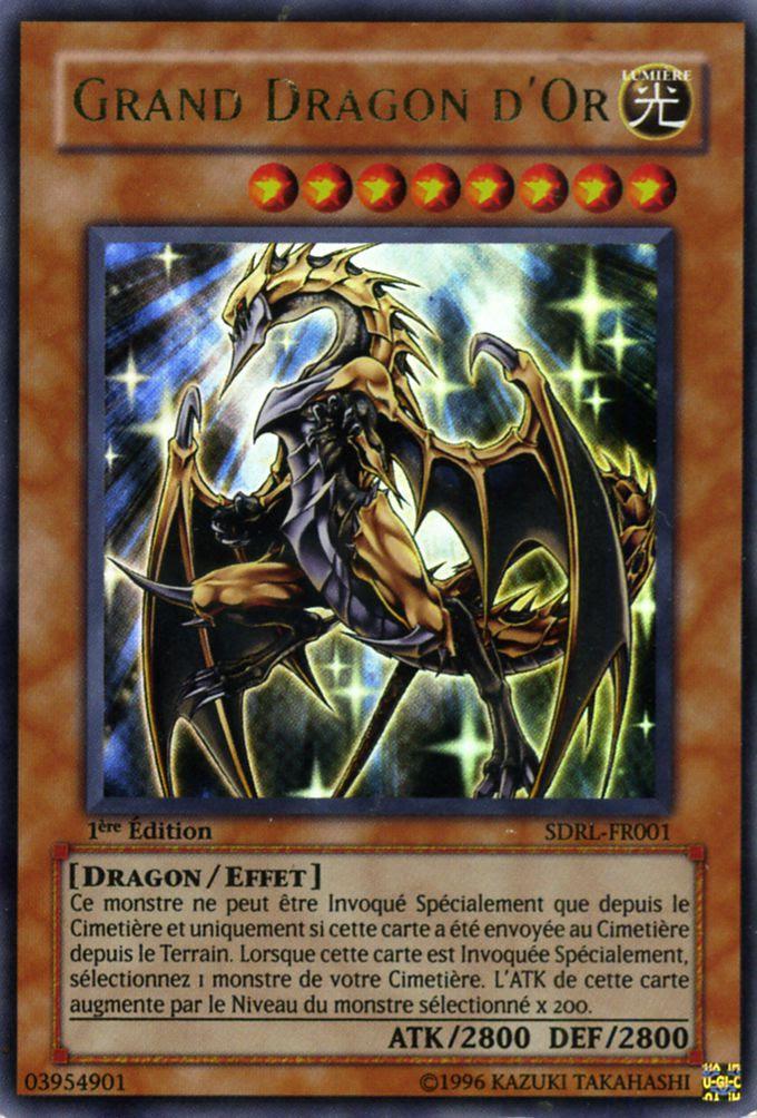 Cartes Yu Gi Oh Les Grands Dragons Cest Bon Les Chroniques