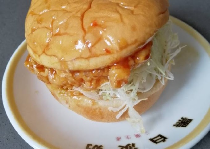 Recipe: Appetizing Homemade Chicken Burger