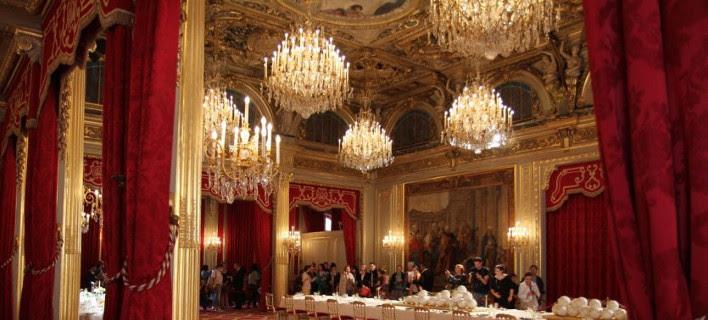 Χλιδή στο προεδρικό μέγαρο για τους Μακρόν -Κάνουν ανακαίνιση 100 εκατ. ευρώ [εικόνες]