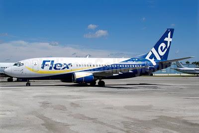 Flex Linhas Aereas Boeing 737-3K9 PR-FLX (msn 24864) OPF (Luimer Cordero). Image: 909747.