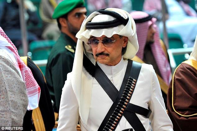 Prisonnier le plus haut placé: le prince Alwaleed bin Talal a été suspendu pour «envoyer un message» après avoir été attiré à une réunion avec le prince héritier. Il vaut au moins 7 milliards de dollars