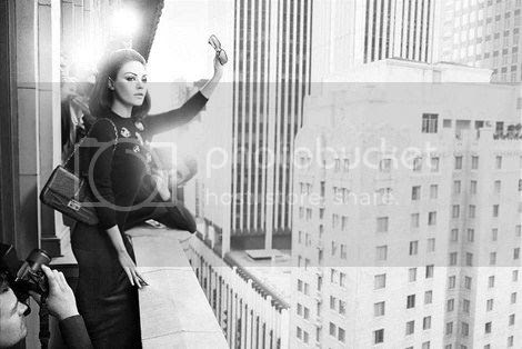 Mila Kunis for Miss Dior Fall 2012 Ad Campaign