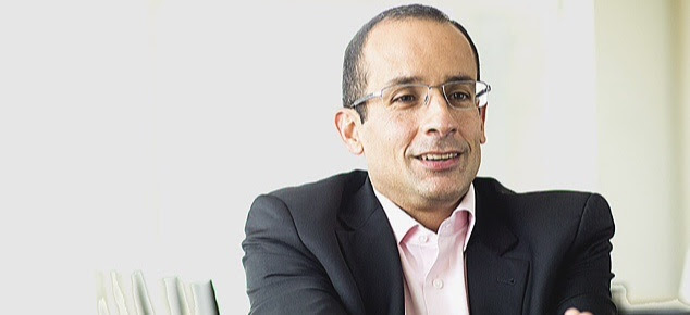 Marcelo Odebrecht, o oitavo mais rico do mundo, em seu escritório em São Paulo