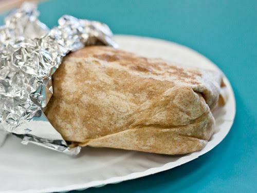 Behemoth of a burrito!