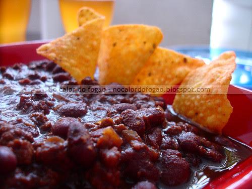 Chilli con carne, stout y chocolate