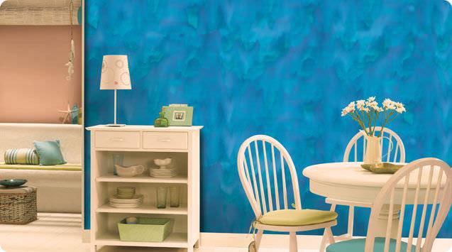 Decorative effect paint - ROYALE PLAY CANVAS - ASIAN PAINTS