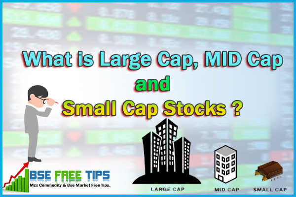 What is Large Cap, MID Cap and Small Cap stocks?
